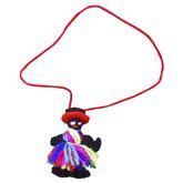 mexicaans gelukspoppetje zwart vrouwtje