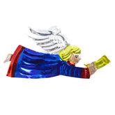 figuur van blik engel trompet blauw