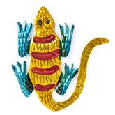 figuur van blik salamander