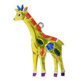 figuur van blik giraffe