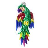 figuur van blik papegaai groen