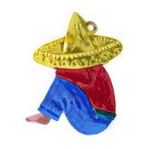 figuur van blik mexicaan