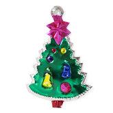 figuur van blik kerstboom groen luxe