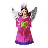 figuur van blik engel bijbel roze
