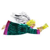 figuur van blik engel trompet groen