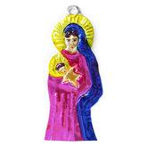 figuur van blik maria en jezus
