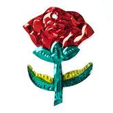 figuur van blik roos