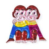 magneetje van blik apen