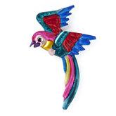 magneetje van blik papegaai speels