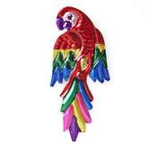 magneetje van blik papegaai