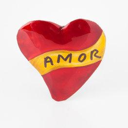 magneetje van blik hart amor