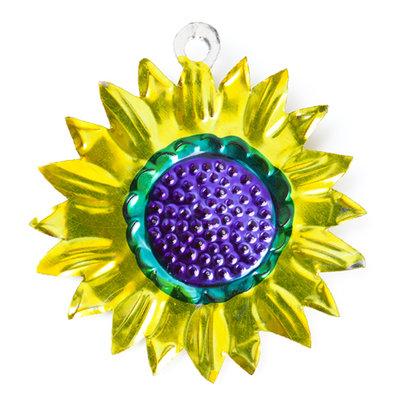 figuur van blik zonnebloem
