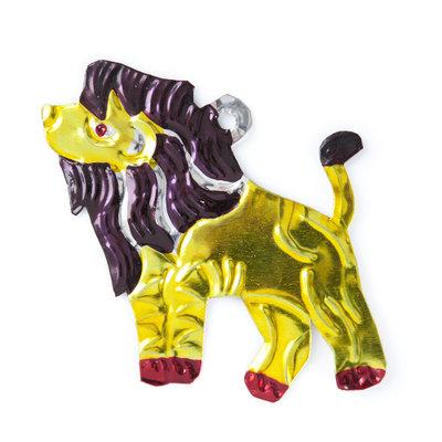 figuur van blik leeuw
