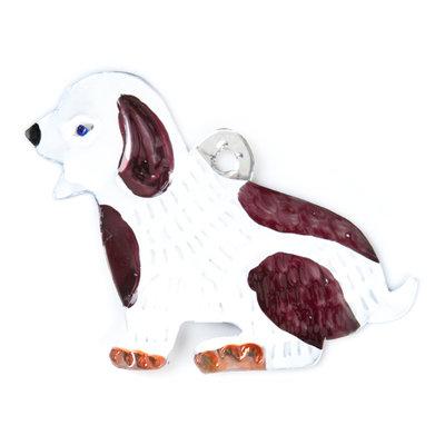 figuur van blik hond