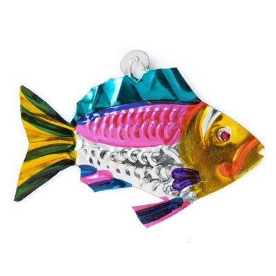 figuur van blik vis stoer