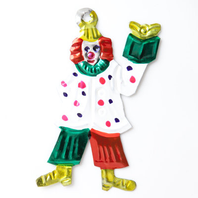 figuur van blik clown