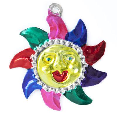figuur van blik zon kleuren