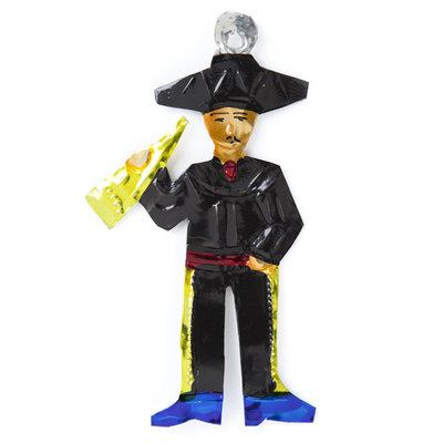 figuur van blik trompet