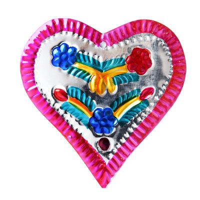 figuur van blik hart luxe roze