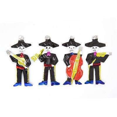 figuren van blik mariachis