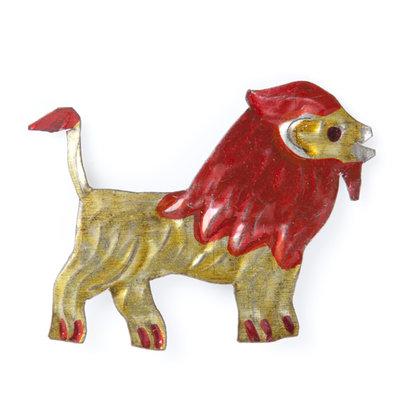 magneetje van blik leeuw