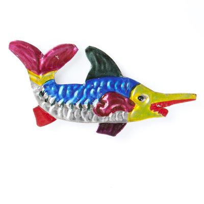 magneetje van blik zwaardvis