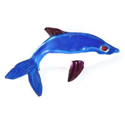 magneetje van blik dolfijn