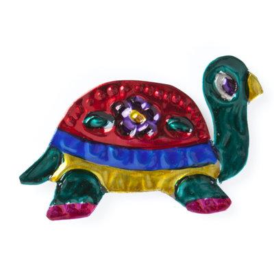 magneetje van blik schildpad