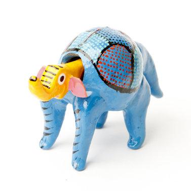 wiebelbeestje olifant