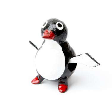 wiebelbeestje pinguin