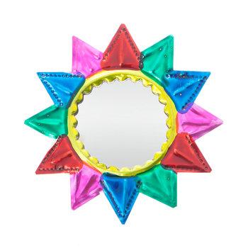 spiegeltje van blik klein ster