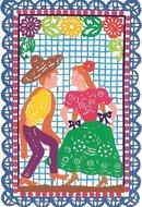 valentijnskaart dansen