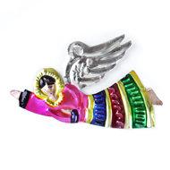 figuur van blik engel luxe roze