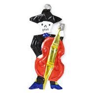 figuur van blik skelet guitarrón
