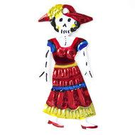 figuur van blik skelet oma