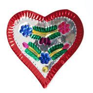 figuur van blik hart luxe rood
