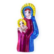 magneetje van blik maria en jezus