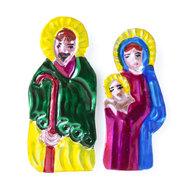 magneetjes van blik jozef maria en jezus